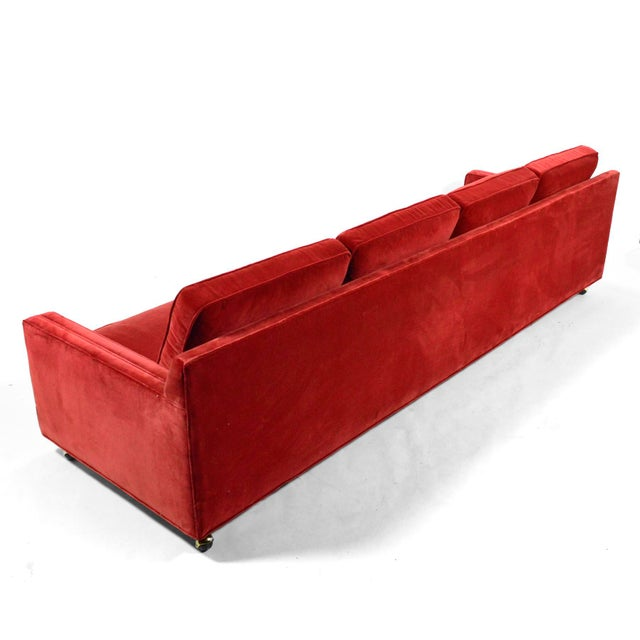 Harvey Probber Double Arm Sofa For Sale - Image 9 of 10