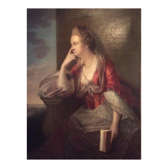 Antique Portrait of Lady For Sale