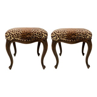 Pair of French Ottomans