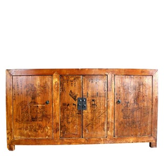 Painted Gansu Sideboard