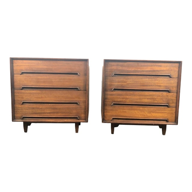 Milo Baughman for Drexel Perspective Chests - a Pair For Sale