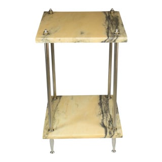 20th Century French Marble Console Table, 1970's For Sale