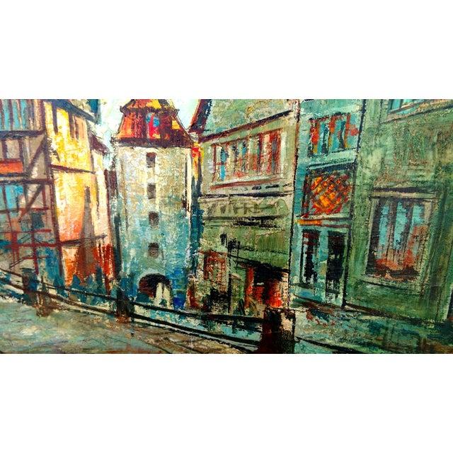 Rustic Street Scene Painting by Geo Koppany - Image 6 of 9