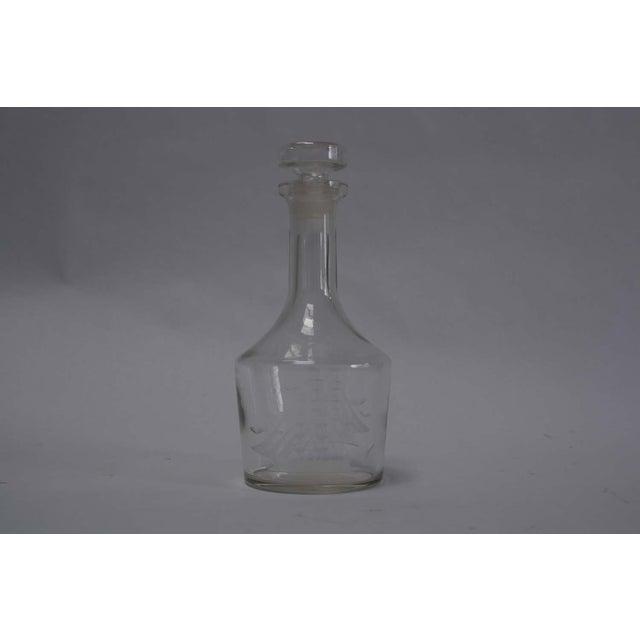 Nautical Etched Ship Glass Liquor Decanter - Image 2 of 5