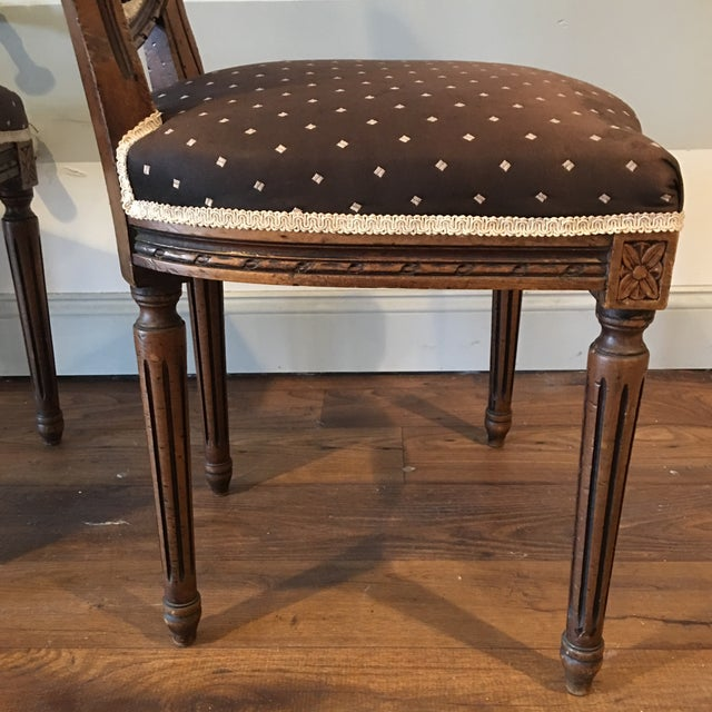 Queen Anne Side Chairs - A Pair - Image 7 of 8