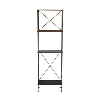 Slim Blackened Steel Etagere by Charleston Forge Preview