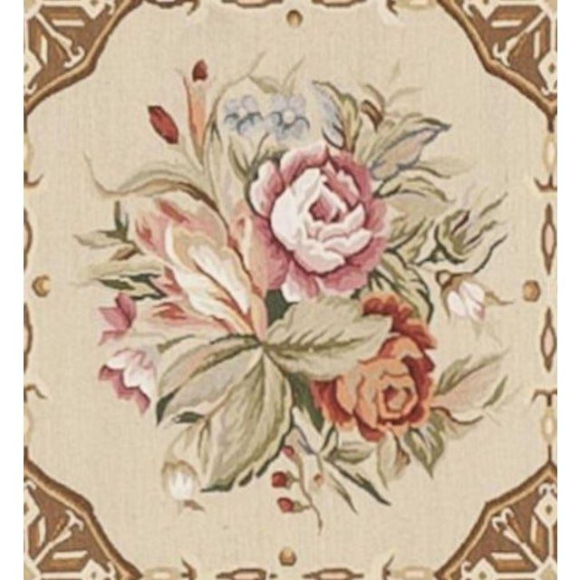 Asian Chinese Aubusson Tapestry For Sale - Image 3 of 4