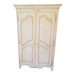 Ethan Allen Country French Maple Armoire For Sale