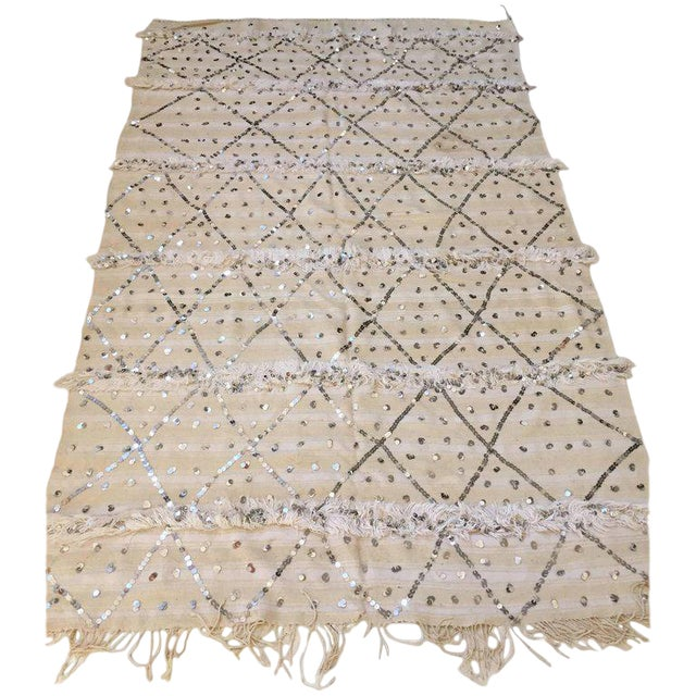 Moroccan Wedding Berber Blanket For Sale