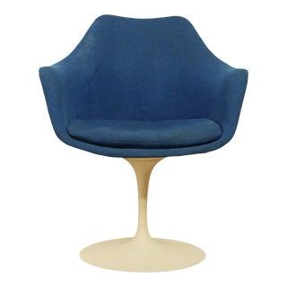 Knoll Mid Century Modern Vintage Saarinen Tulip Chair For Sale