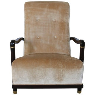 """Lucien Rollin Collection """"Palais"""" Armchair by William Switzer Showroom Reproduction For Sale"""