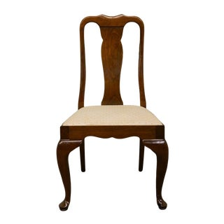 20th Century Queen Anne Stickley Furniture Solid Cherry Dining Side Chair