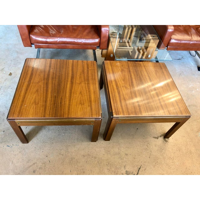 20th Century Danish Mahogany End Tables - a Pair For Sale - Image 9 of 9