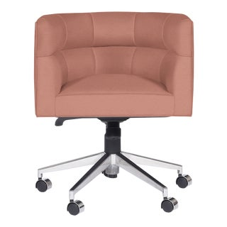Casa Cosima Perry Desk Chair, Brisa Flamingo For Sale
