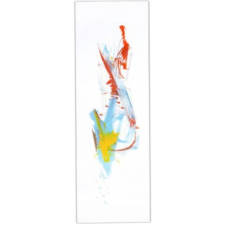 """Contemporary Abstract Painting """"Flexible"""" by Joseph Conrad-Ferm 2016 For Sale"""