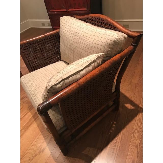 Ficks Reed Wicker Chair For Sale - Image 10 of 10