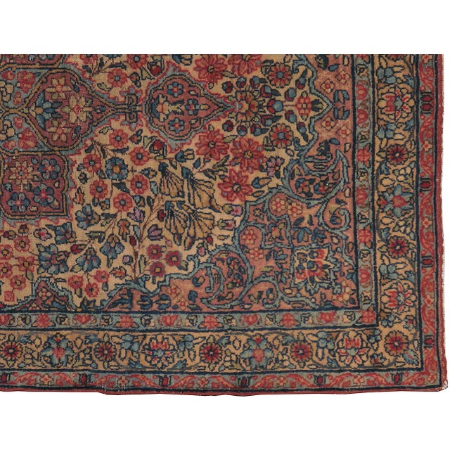 "Antique Persian Kerman Rug - 2'11"" x 5'0"" - Image 3 of 3"