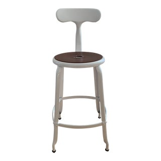 White Countertop Stool For Sale