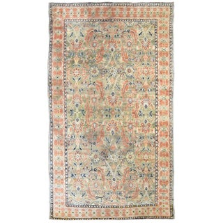 Antique Indian Cotton Agra Rug For Sale