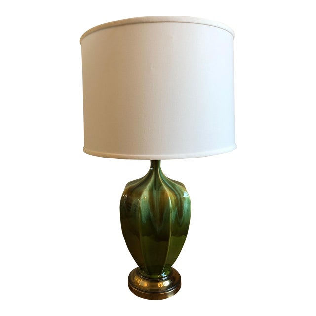 Royal Haeger Drip Glaze Table Lamp - Image 1 of 4
