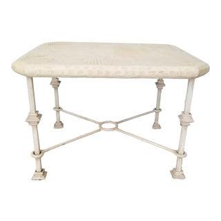 J. Berdou Art Postmodern Style Side Table . For Sale