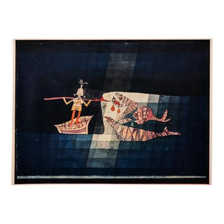 "1958 ""Battle Scene"" From the Comic Operatic Fantasy Print by Paul Klee For Sale"