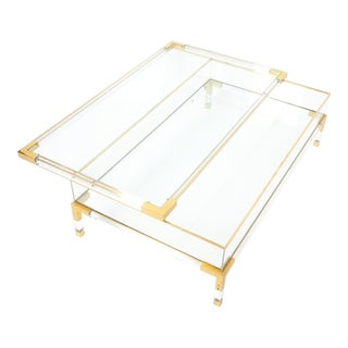 Maison Jansen Vitrine Coffee Table For Sale