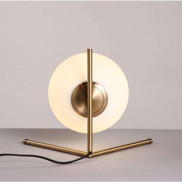 1990s Contemporary Scandinavian Glass Bubble Desk Lamp I've seen this globe lamp for over $800, and fell in love. It was...