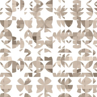 Modern Botanic 'Agave' Raw Silk Wallpaper Roll For Sale