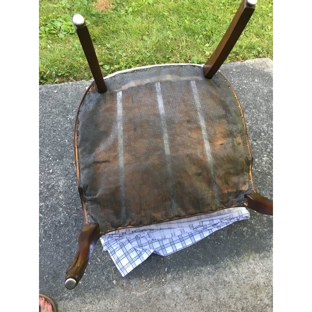 Late 20th Century Striped Perfection Chair For Sale - Image 10 of 13