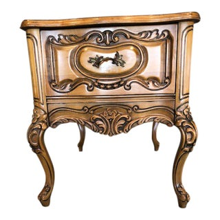 20th Century French Carved Side Table For Sale