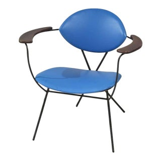 Blue Joseph Cicchelli Chair for Reilly Wolf For Sale