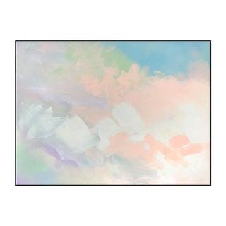 """Abstract Peach Pair No. 1"" Framed Giclée Print For Sale"