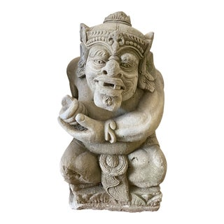 Balinese Demi God Twalen Statue For Sale