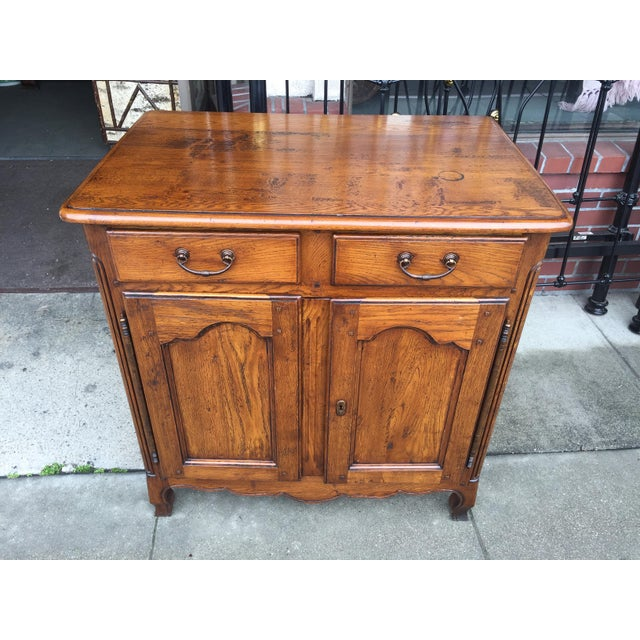 French Country Oak Cabinet - Image 2 of 8