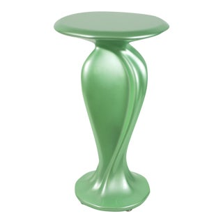 Accent Table No. 2 by Chris Delmar in Jade For Sale