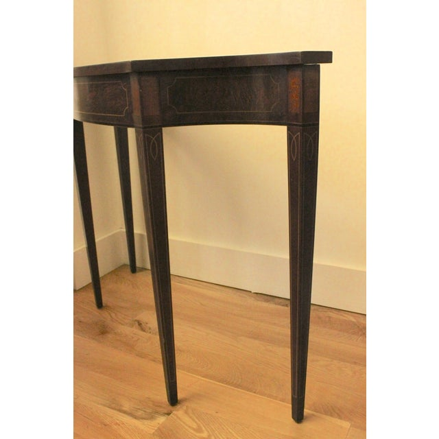 Foyer Table Height : Hepplewhite console foyer table chairish