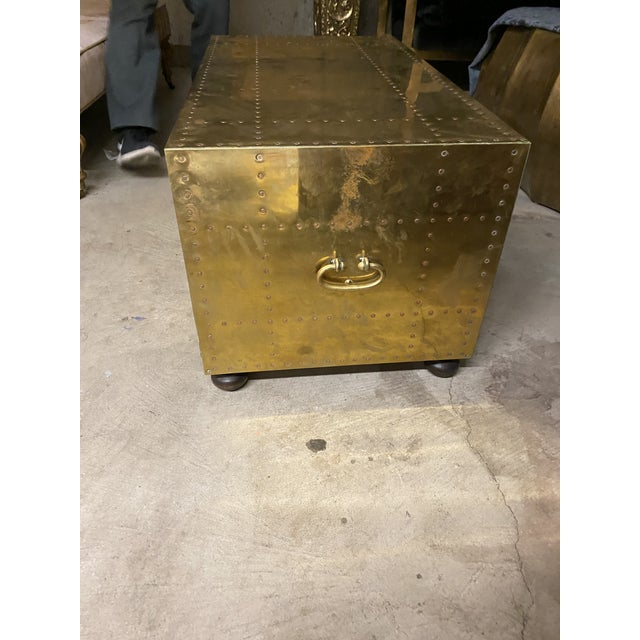 This beautiful brass chest of drawers is from the home of the Grammy Award Winning music producer, Ryan Lewis. Now is your...