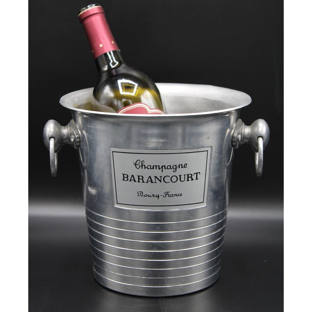 Vintage French Barancourt Champagne Ice Bucket For Sale - Image 11 of 13