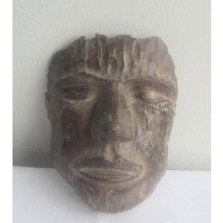 1993 Artisan Handmade Terra Cotta Mask Preview
