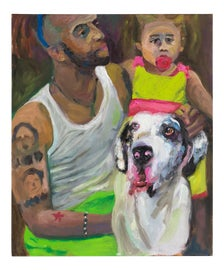 Image of Newly Made Dog Paintings