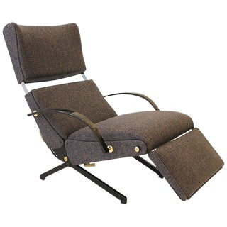 Lounge Chair P40 by Osvaldo Borsani for Tecno For Sale