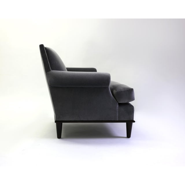 The Lorraine club chair is the LF Collection variation on the timeless Jansen style club chair - with the square back...