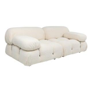Camaleonda Sofa in Boucle Wool by Mario Bellini For Sale