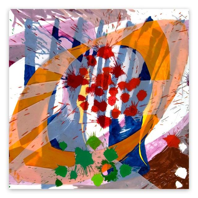 """Ellen Priest Ellen Priest """"Jazz: Edward Simon's Venezuelan Suite 16"""", Painting For Sale - Image 4 of 4"""