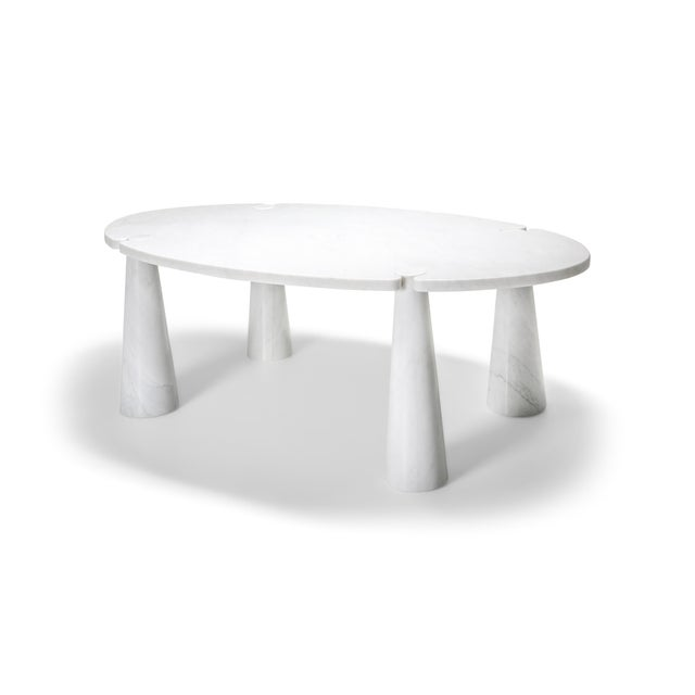 Carrara Marble Dining Table by Angelo Mangiarotti - 1970s For Sale - Image 13 of 13
