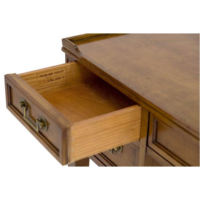 Brass Baker Milling Road Writing Desk For Sale - Image 7 of 10