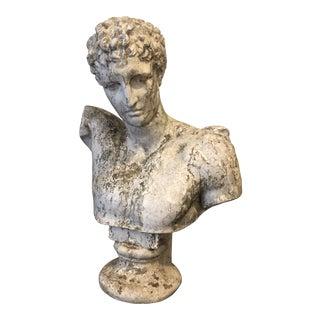 Vintage David Bust Statue For Sale