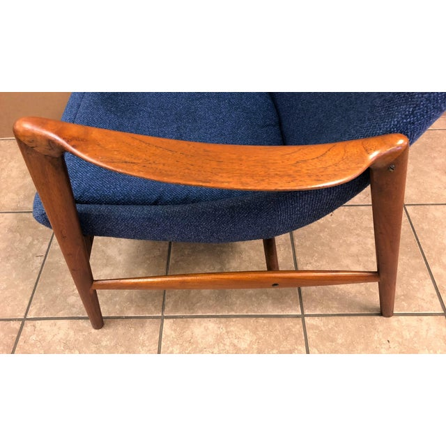 1960s Danish Mid-Century Modern Lounge Chair For Sale - Image 5 of 8