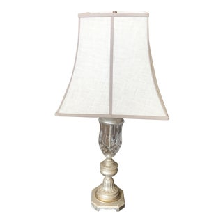 Traditional Currey & Company Cut Glass Table Lamp
